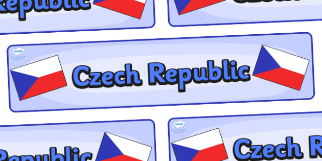 Czech Republic Display Banner - Czech Republic, Olympics, Olympic Games, sports, Olympic, London, 2012, display, banner, sign, poster, activity, Olympic torch, flag, countries, medal, Olympic Rings, mascots, flame, compete, events, tennis, athlete, s