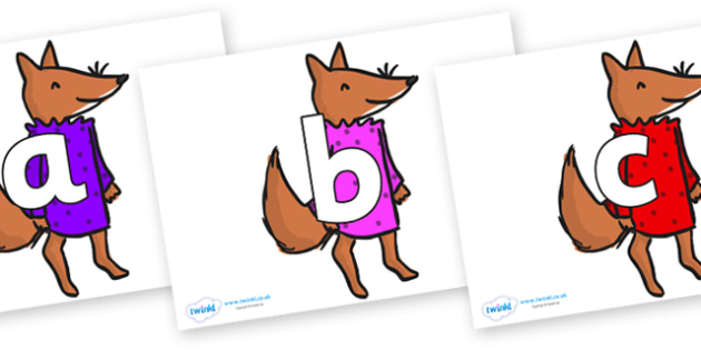 Phoneme Set on Small Fox 3 to Support Teaching on Fantastic Mr Fox - Phoneme set, phonemes, phoneme, Letters and Sounds, DfES, display, Phase 1, Phase 2, Phase 3, Phase 5, Foundation, Literacy