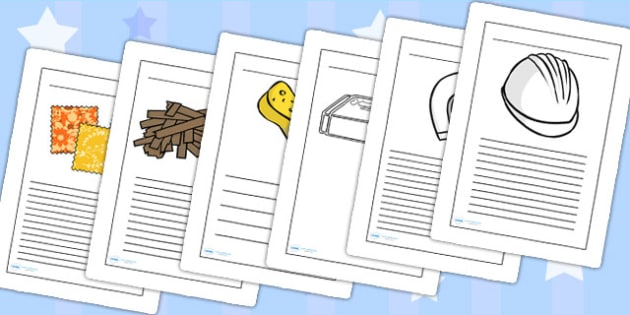 Materials Writing Frames - materials, writing frames, writing