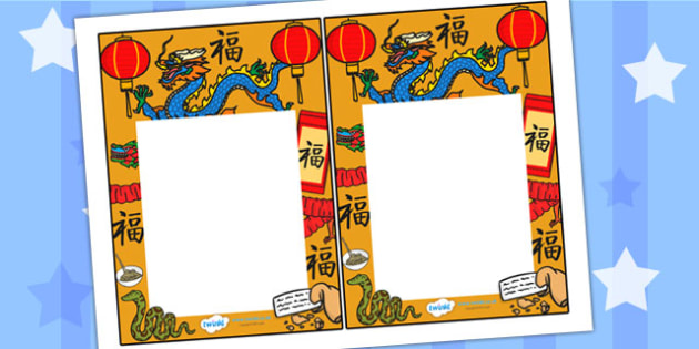 Chinese New Year Editable Notes to Teacher - chinese, new year
