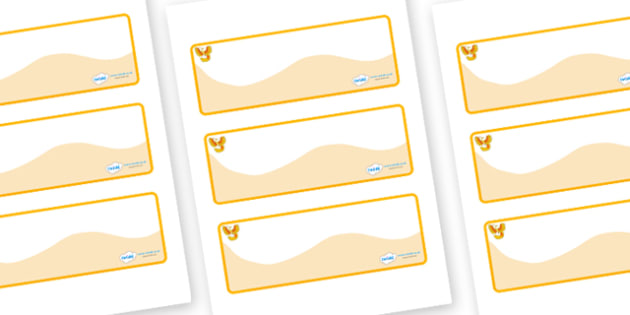 Phoenix Themed Editable Drawer-Peg-Name Labels (Colourful) - Themed Classroom Label Templates, Resource Labels, Name Labels, Editable Labels, Drawer Labels, Coat Peg Labels, Peg Label, KS1 Labels, Foundation Labels, Foundation Stage Labels, Teaching