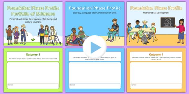 Foundation Phase Profile Portfolio of Evidence PowerPoint Outcome 1 Outcome 3 - welsh, cymraeg, Foundation Phase Profile, Portfolio of Evidence, Outcome 1, Outcome 2, Outcome 3