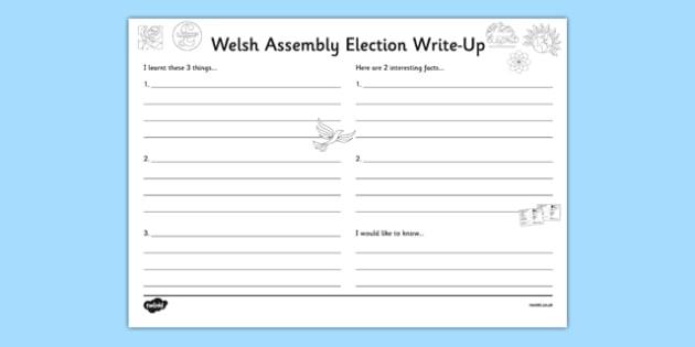 Welsh Assembly Election Write Up - welsh, cymraeg, Welsh Assembly Election 2016, Write Up