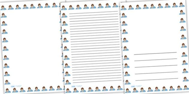 Tanni Grey Thompson Page Borders - tanni grey thompson, page borders, themed page borders, tanni grey thompson themed, tanni grey thompson borders