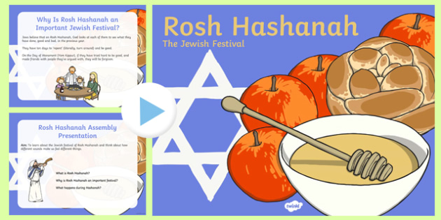 Rosh Hashanah Assembly Presentation - usa, america, rosh hashanah, assembly