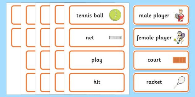 Roland-Garros Word Cards - roland-garros, french opens, stadium, word cards