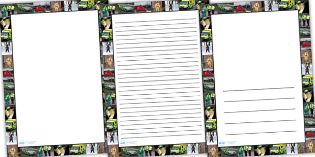 People Who Help Us Photo Page Borders - people who help us, photo page borders, page borders, photo borders, writing frames, lined pages, writing pages