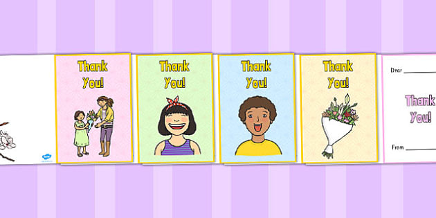 Thank You Card - make your own thank you card, card, making cards, thank you, thanks