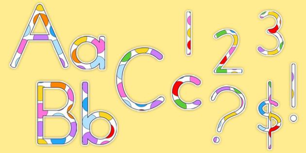 Polka Dot Display Lettering - australia, display lettering, polka dot