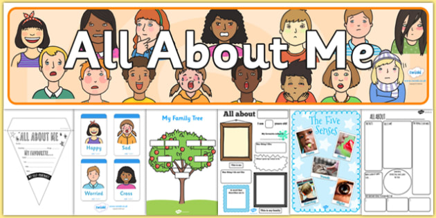 All About Me Pack KS1 - all about me, pack, ks1, me, resources