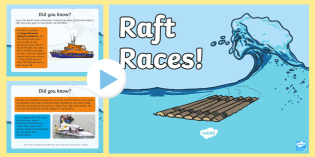 Raft Race PowerPoint