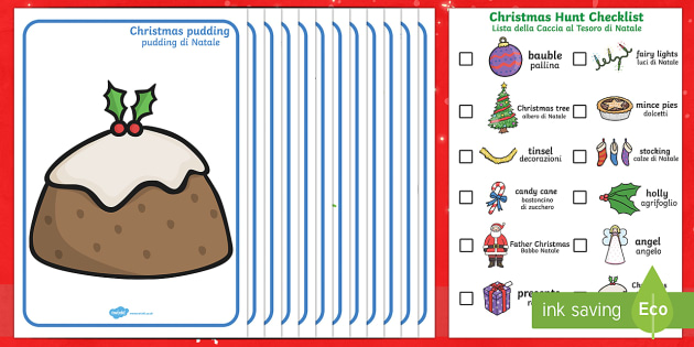 Christmas Hunt Activity Pack English/Italian - Christmas Hunt Activity Pack - christmas, hunt, activity, pack, chritmas, chriatmas, christms, chris