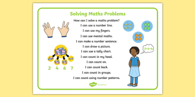 Solving Maths Problems Strategy Checklist - solving maths problems, strategy checklist, solve, maths, problems, strategy, checklist