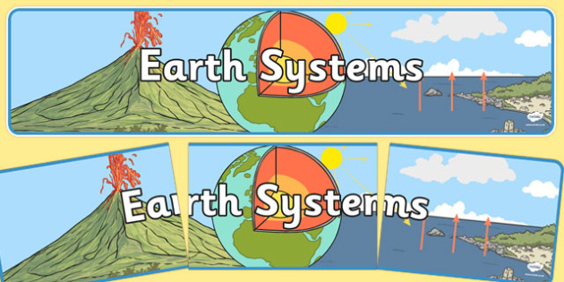 Earth Systems Display Banner NZ - nz, new zealand, earth, display banner, display, banner