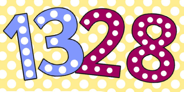 Count The Spots 0-30 Display Numbers - count, spots, display
