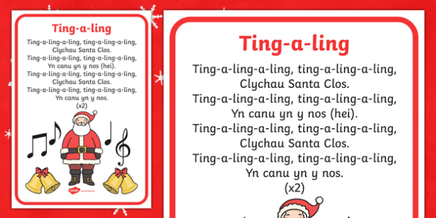 Ting a ling Song Lyrics-Welsh