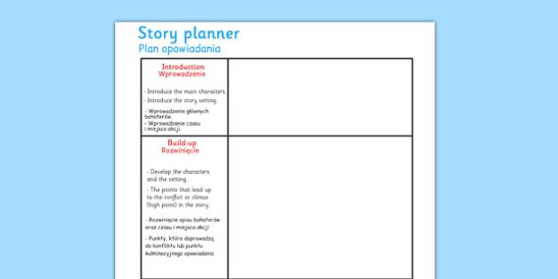 Story Planning Frame Polish Translation - polish, story planning, story, planning, frame