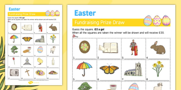 Elderly Care Easter Fundraising Sheet - Elderly, Reminiscence, Care Homes, Easter