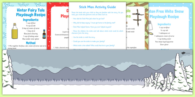 Busy Bag Resource Pack for Parents to Support the Teaching on Stick Man - busy bag, resource pack, parents, support