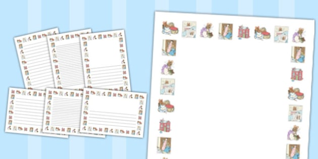 The Tale of Two Bad Mice Page Borders - two bad mice, page borders