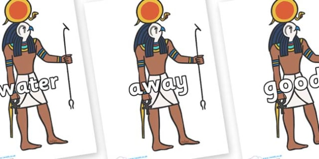 Next 200 Common Words on Egyptian Figures - Next 200 Common Words on  - DfES Letters and Sounds, Letters and Sounds, Letters and sounds words, Common words, 200 common words