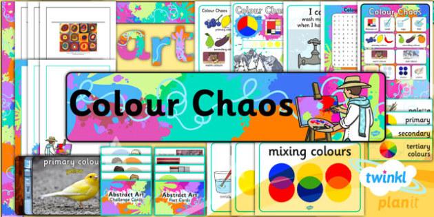 PlanIt - Art - KS1 Colour Chaos: Unit Additional Resources