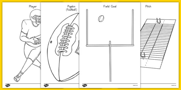 NFL Coloring Pages - usa, nfl, national football league, american football, colouring, coloring, color