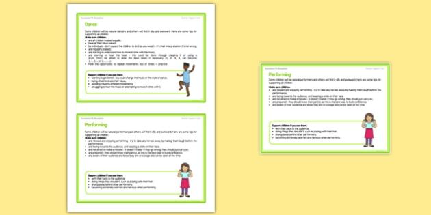 Foundation PE (Reception) - Dance - Dinosaurs Teacher Support Cards Pack - EYFS, PE, Physical Development, Planning