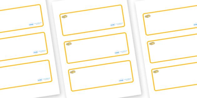 Egypt Themed Editable Drawer-Peg-Name Labels (Blank) - Themed Classroom Label Templates, Resource Labels, Name Labels, Editable Labels, Drawer Labels, Coat Peg Labels, Peg Label, KS1 Labels, Foundation Labels, Foundation Stage Labels, Teaching Labels