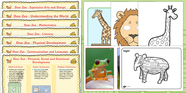 Lesson Plan and Enhancement Ideas EYFS to Support Teaching on Dear Zoo - dear zoo, EYFS, lesson plan, lesson plan ideas, lesson ideas, lesson planning, teaching plan, mtp, EYFS lesson ideas