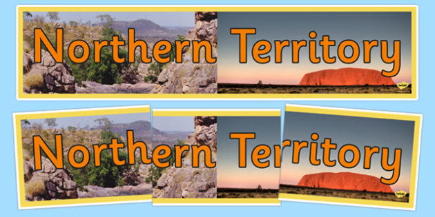 Northern Territory Display Banner - australia, States and Territories, NT, Northern Territory, display
