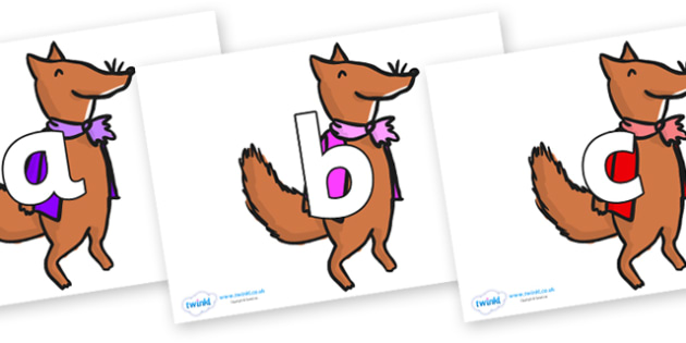 Phoneme Set on Small Fox 1 to Support Teaching on Fantastic Mr Fox - Phoneme set, phonemes, phoneme, Letters and Sounds, DfES, display, Phase 1, Phase 2, Phase 3, Phase 5, Foundation, Literacy
