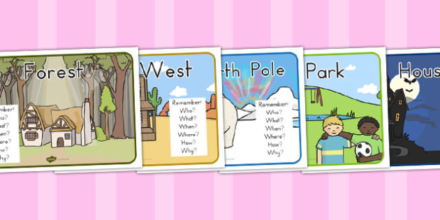 Story Settings Posters - australia, story, setting, posters