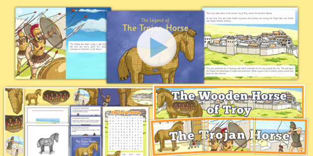 The Trojan Horse Resource Pack - the trojan horse, resource pack, resource, pack, trojan horse