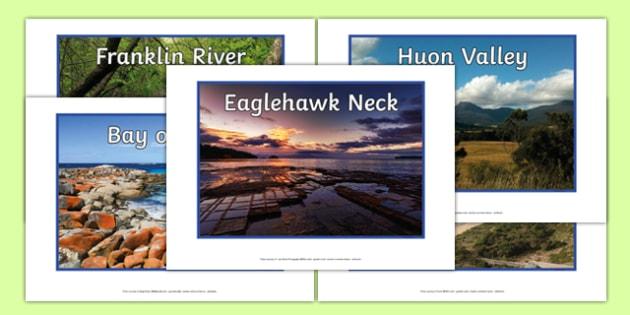 Tasmania Natural Features Photo Pack - australia, rivers, lakes, mountains, natural, tourist attraction, landscape, landmark