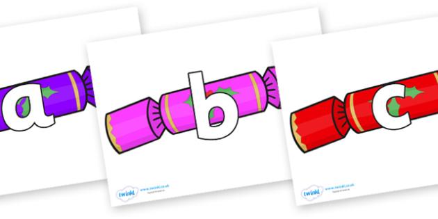 Phoneme Set on Multicoloured Crackers - Phoneme set, phonemes, phoneme, Letters and Sounds, DfES, display, Phase 1, Phase 2, Phase 3, Phase 5, Foundation, Literacy