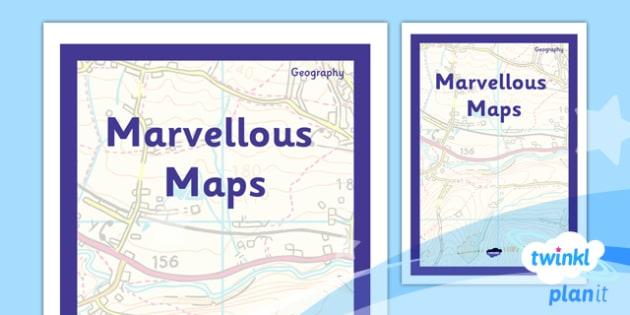 PlanIt - Geography Year 5 - Marvellous Maps Unit Book Cover - planit, book cover, year 5, geography, marvellous maps