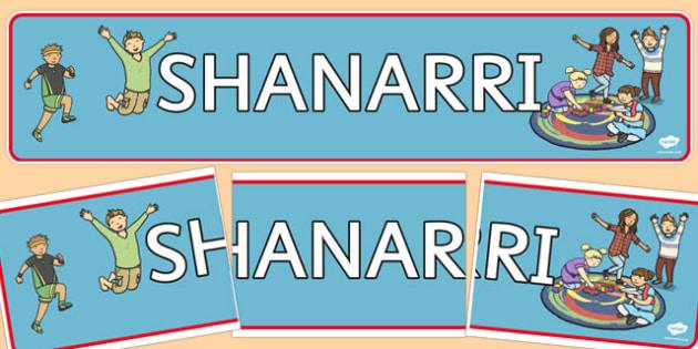 SHANARRI Display Banner - shanarri, display banner, display, banner