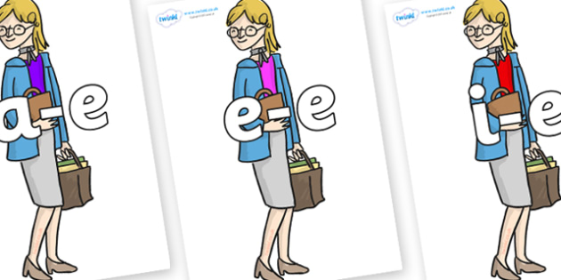 Modifying E Letters on Miss Honey to Support Teaching on Matilda - Modifying E, letters, modify, Phase 5, Phase five, alternative spellings for phonemes, DfES letters and Sounds