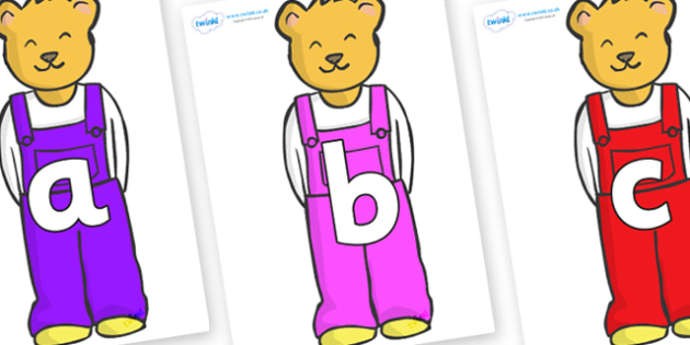 Phoneme Set on Bears to Support Teaching on Whatever Next! - Phoneme set, phonemes, phoneme, Letters and Sounds, DfES, display, Phase 1, Phase 2, Phase 3, Phase 5, Foundation, Literacy