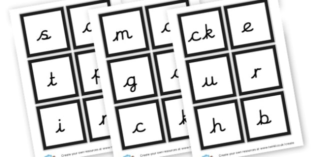 Phase 2 Sound Labels - Phase 2 Visual Aids Primary Resources, Phase One, Letters, sounds
