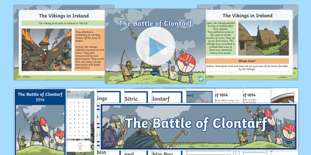 The Battle of Clontarf Resource Pack