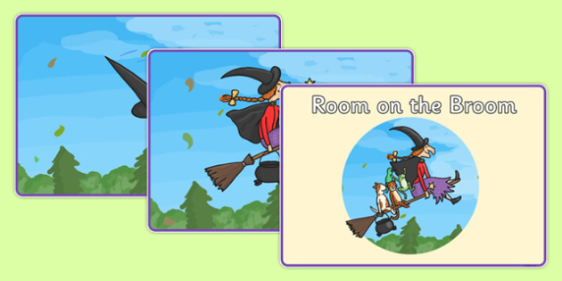 Story Sequencing to Support Teaching on Room on the Broom - Room on the broom, story sequencing, room on the broom story sequencing, story sequence