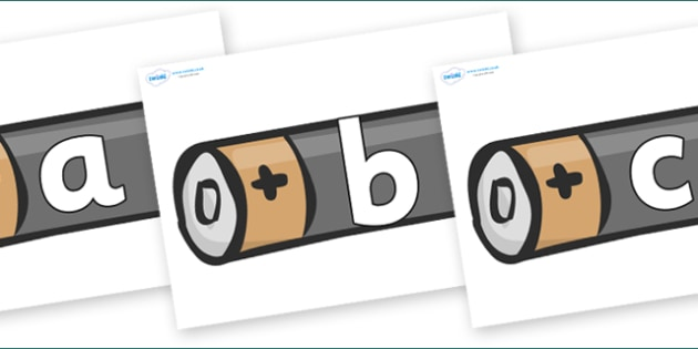 Phoneme Set on Battery - Phoneme set, phonemes, phoneme, Letters and Sounds, DfES, display, Phase 1, Phase 2, Phase 3, Phase 5, Foundation, Literacy