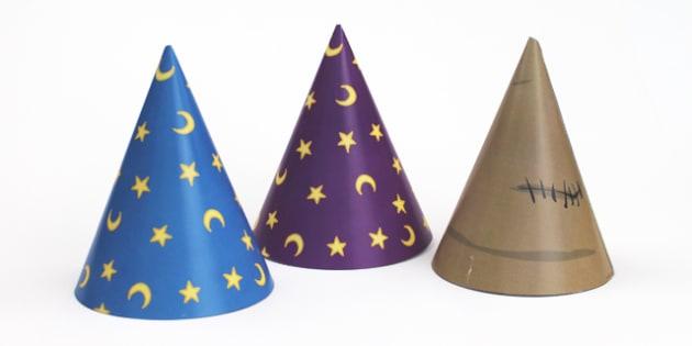 Magic Maths Area Wizard Hat Props - maths, area, wizard, magic