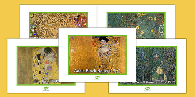 Gustav Klimt Photo Pack - gustav klimt, photo pack, photo, pack