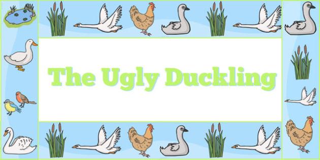 Ugly Duckling Display Borders - ugly duckling, display, borders