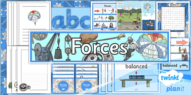 PlanIt - Science Year 5 - Forces Additional Resources - planit