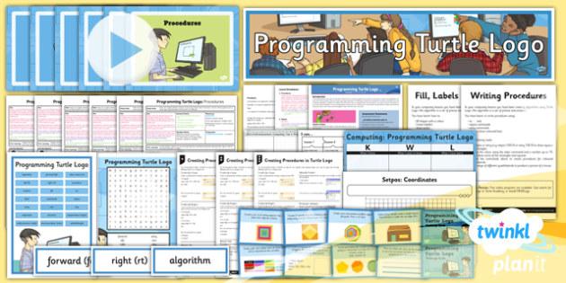 PlanIt - Computing Year 4 - Programming Turtle Logo Unit Pack - IT, ICT, LKS2 lower key stage 2, KS2, key stage 2, planning, resources, programming, algorithms