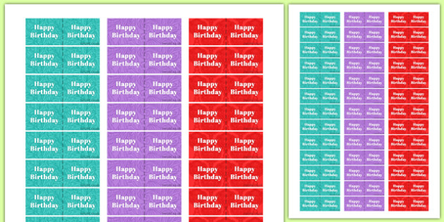 100th Birthday Party Toothpick Flags - 100th birthday party, 100th birthday, birthday party, toothpick flags
